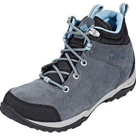 Columbia Fire Venture Mid Waterproof Shoes Women Graphite/Storm